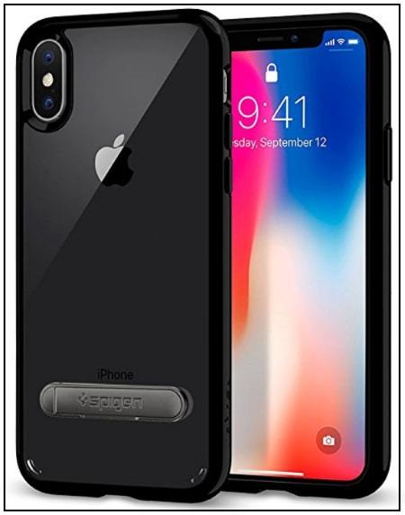 Spigen good iPhone X Kickstand Case