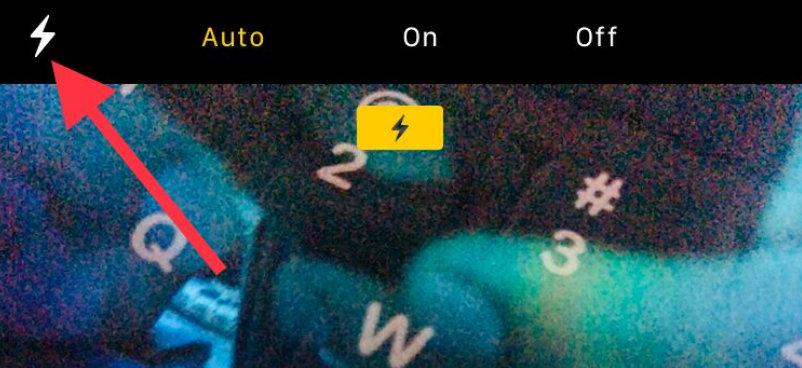 turn off burst mode on iPhone X iPhone 8 Plus using Flash light