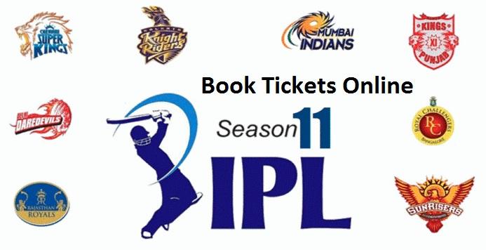 1 IPL Ticket book Season 2018