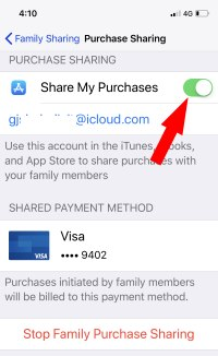 3 Disable app purchase