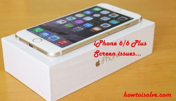 iPhone 6 Touchscreen unresponsive
