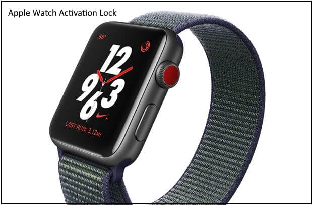 1 Disable and Enable Activation lock on Apple Watch