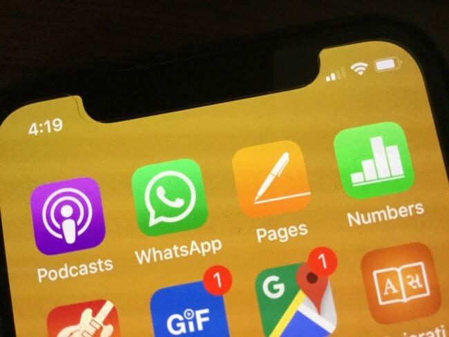 1 WhatsApp Crashing on black spot message