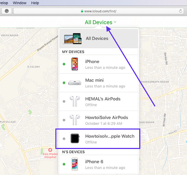Remove Apple Device Activation lock from icloud account - Apple Watch