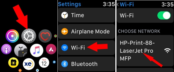 1 Find and Scan WiFi on Apple Watch