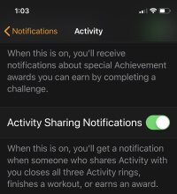 2 Manage Activity Sharing Notifications on Apple Watch (1)