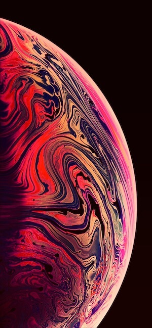 iPhone XS max official Wallpaper download