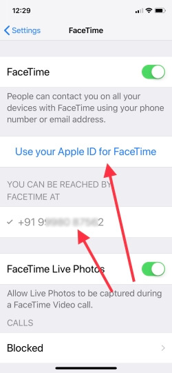 3 Enable Face ID or Use Apple ID as a FaceID on iPhone