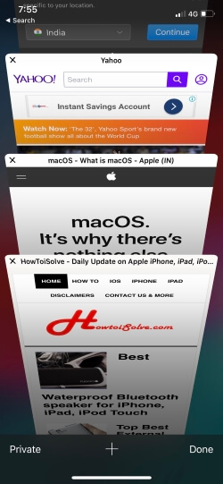 4 See Webpage Favicon icon or image in Safari on iPhone in iOS 12