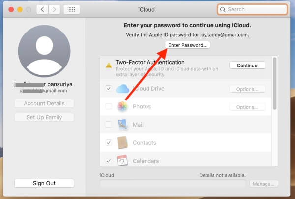 5 Verify Apple ID on your Mac