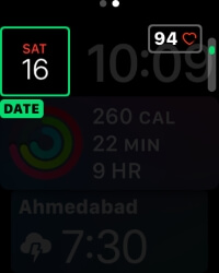 7 Change Date and Time on Apple Watch Siri face