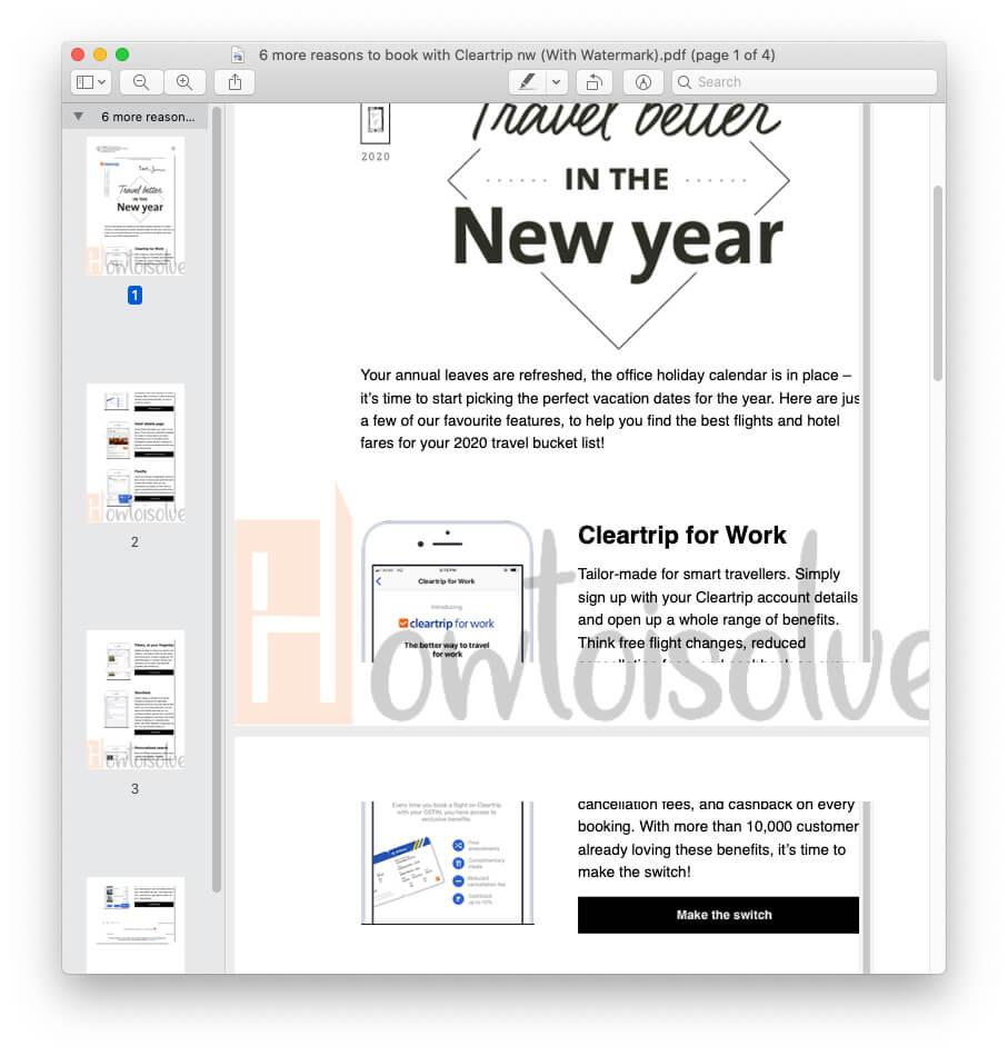 Here's PDF file that is Watermark using Automator on MacBook Mac