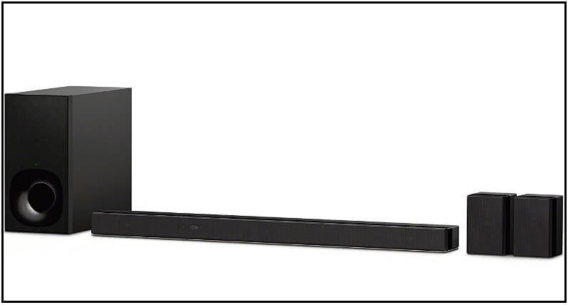 Soundbars with Dolby Atmos Sony Dolby Atmos Soundbar with rear speakers for Apple TV