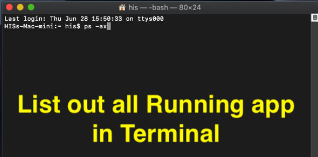 ps-ax command on mac enter in terminal to force quit app on mac