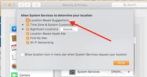 3 Enable Location Based Service on Mac