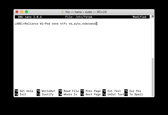 1 NTFS Drives not showing on Mac