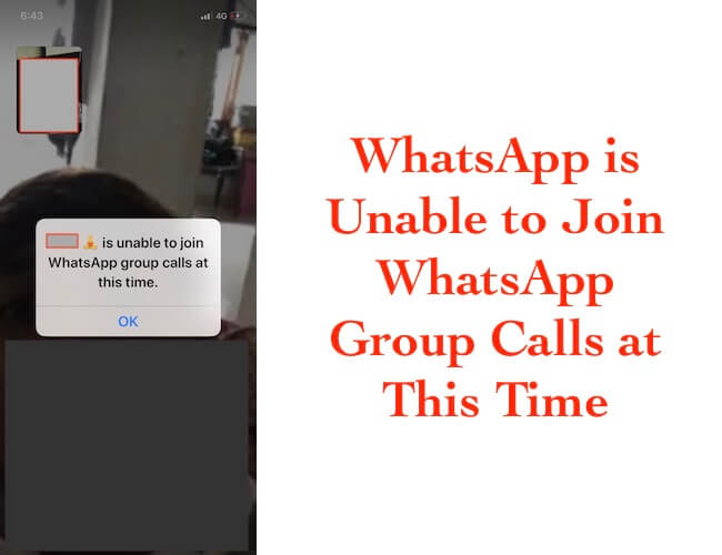 1 WhatsApp Group calls not working on iPhone and iPad (1)