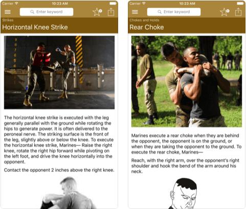 2 Marine Self-Defense iPhone apps