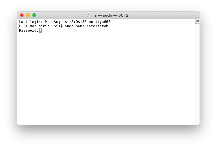 3 NTFS Drive access on MacOS