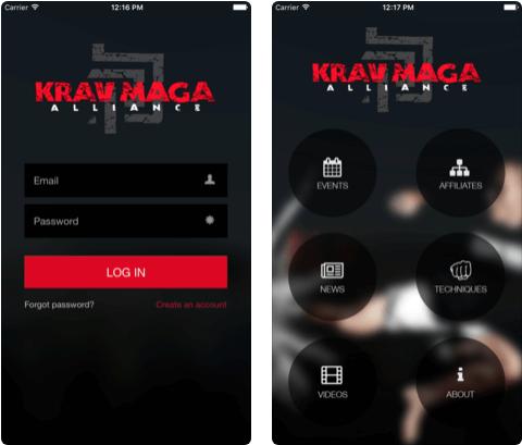5 Krav Maga Self-Defense iPhone apps