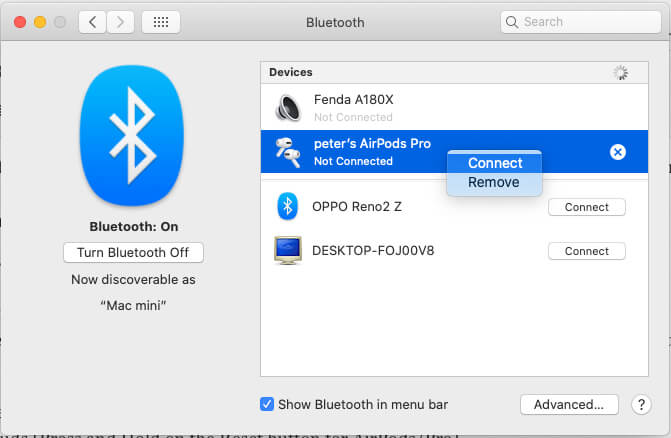 Connect External Headphone or Earbud as Microphone on Mac