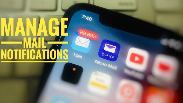 Email Notifications on iPhone and iPad