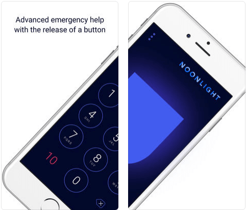 Noonlight Self-Defense iPhone apps
