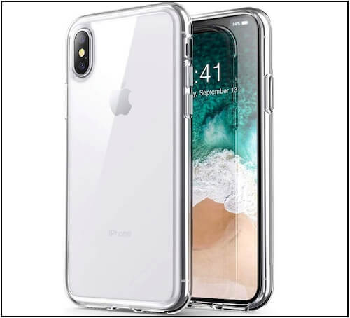 1 Pushimei Soft Slim Case for iPhone XS Max