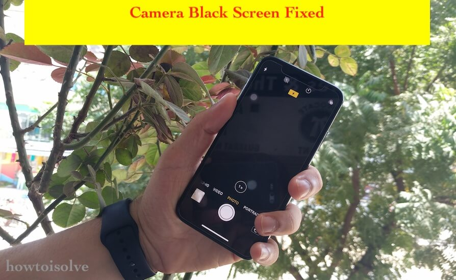 1 iPhone XS Max Camera Black screen issues fixed (1)