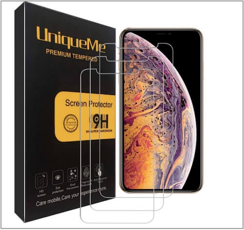 2 TOZO Glass Screen Protector for iPhone XS Max