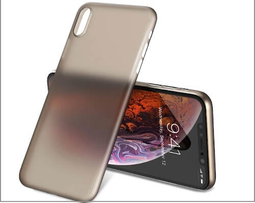2 TOZO Ultra-thin Bumper Case for iPhone XS