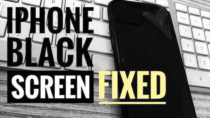 3 iPhone Black screen Fixed here (1)