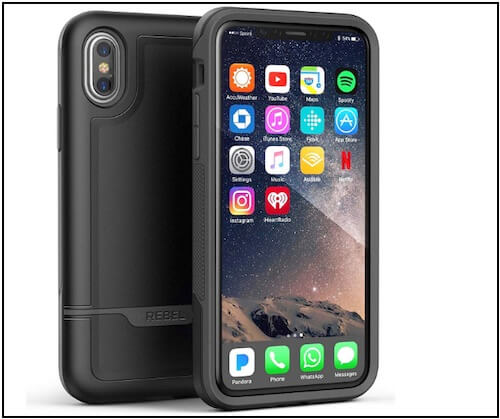 7 Encased Heavy Duty Armor for iPhone XS Max Military Grade case
