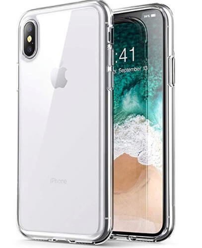 9 PUSHIMEI Full Body iPhone XS Max Clear case