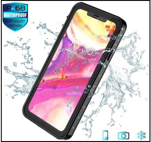 Spidercase Waterproof Case for iPhone XS Max