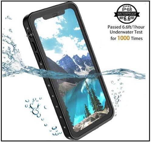 Temdan Waterproof case for iPhone XS Max
