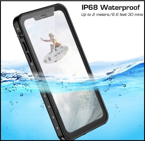Vapesoon Waterproof Case for iPhone XS Max