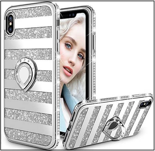 2 Miniko iPhone XS Max Finger Ring Holder