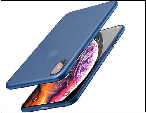 4 TOZO, Minimal protective iPhone XS Max case