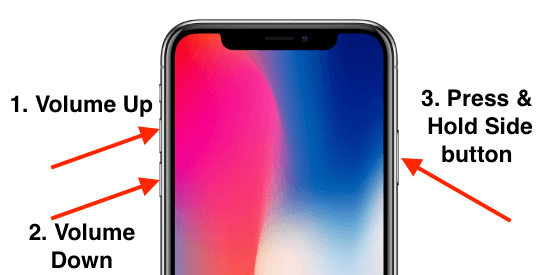 Force Restart iPhone XS Max when Stuck in Recovery mode