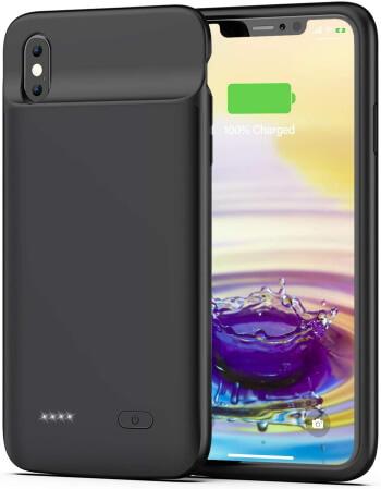 OMEETIE, 5000mAh Portable Battery Juice Case