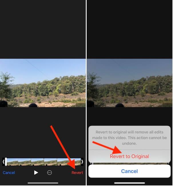 Remove audio from Video iPhone get original