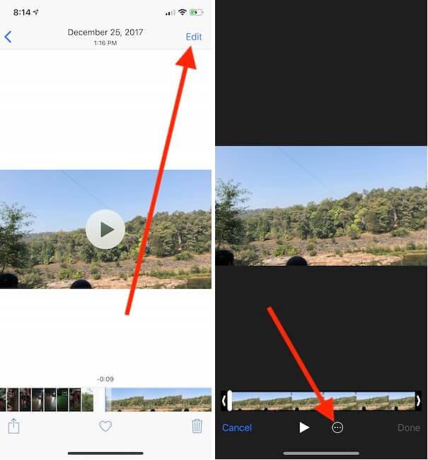 Remove audio from Video iPhone