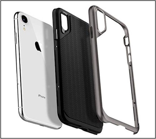 Spigen iPhone XR metal Bumper Case - 6.1