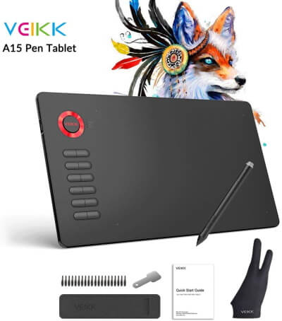 VEIKK 10x6 Digital Tablet