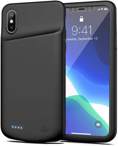 Zurun, Protective Battery Case for iPhone XS Max