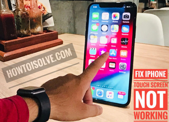 iPhone XS Max Touch Screen Unresponsive or not responding issues Troubleshooting Guide