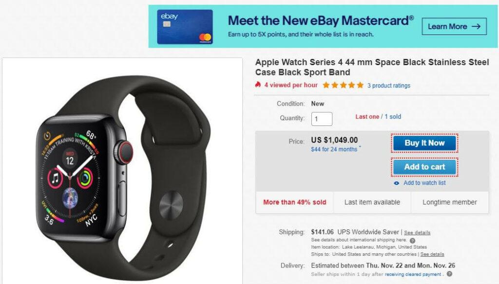 Deals on Black Friday Watch