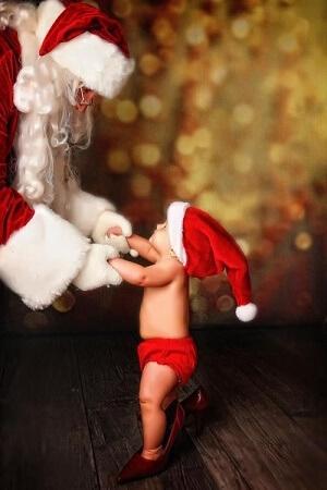 Baby Kids Wallpaper for Christmas 2018