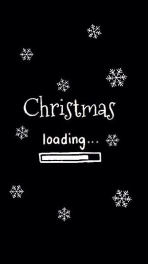 Christmas Day Before loading Wallpaper for iPhone XS Max - iPhone XS and iPhone XR
